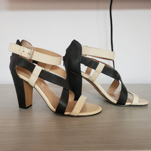 Audrey Brooke Carnaby Strappy High Heel Sandals